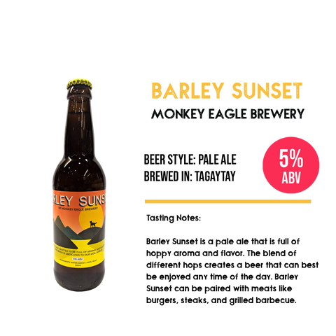 Monkey Eagle - Barley Sunset