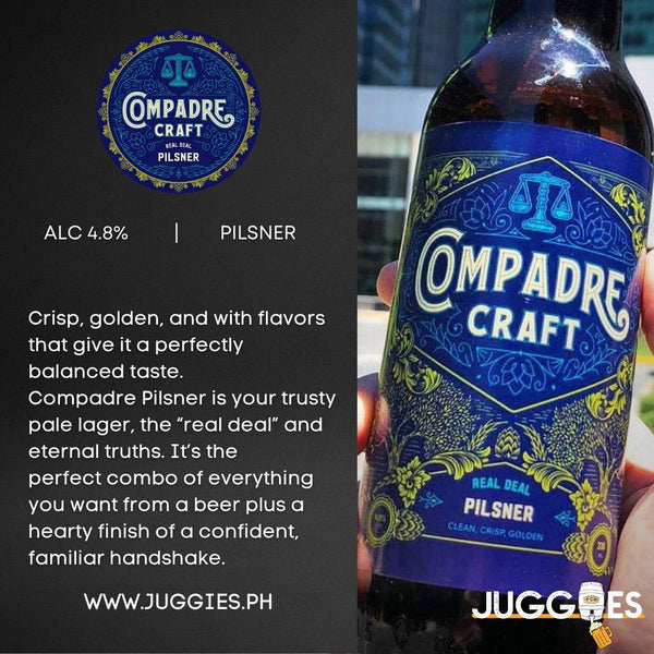 Compadre Craft Pilsner | 2L