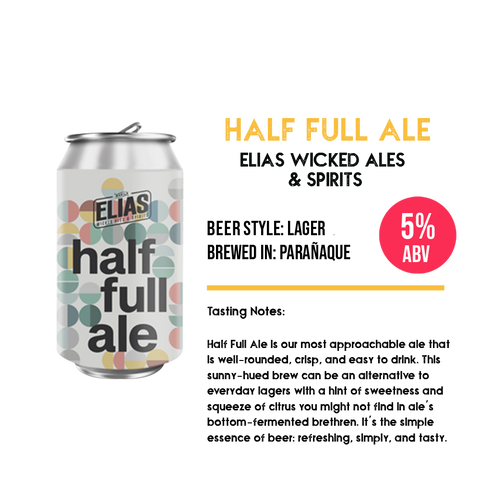 Elias Half Full Ale