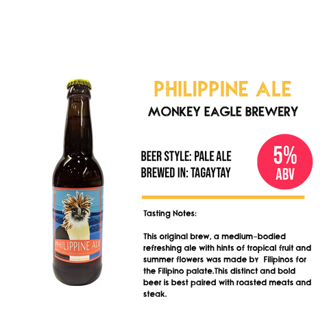 Monkey Eagle - Philippine Ale