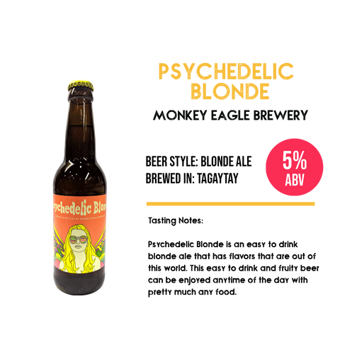 Monkey Eagle - Psychedelic Blonde