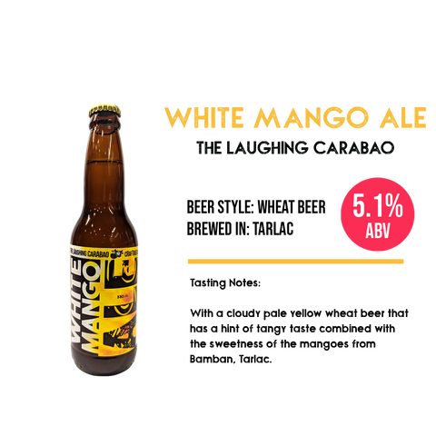 The Laughing Carabao - White Mango Ale