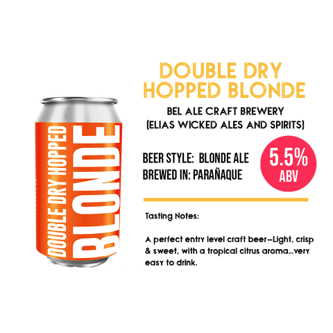 Bel Ale - Double Dry-Hopped Blonde Ale