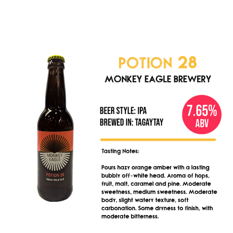 Monkey Eagle - Potion 28