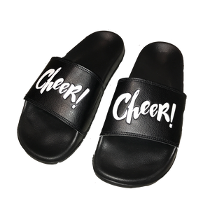 Slide Sandals with Logo