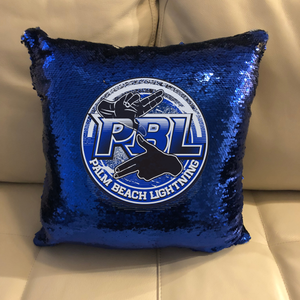 Custom Logo Sequin Pillow