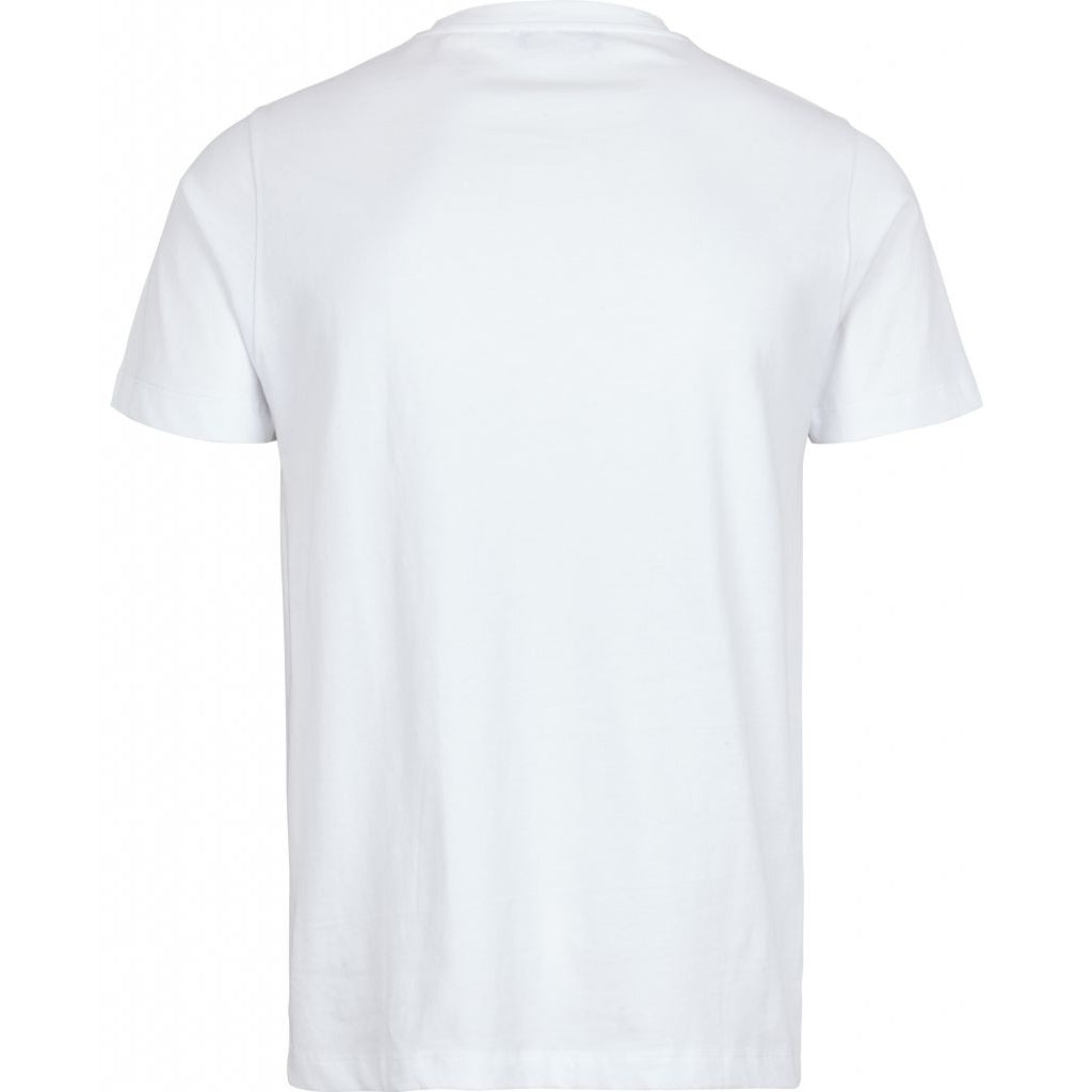 Bruuns Bazaar Men Gustav T-shirt T-shirts Men White