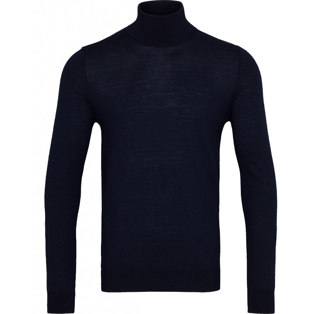 Charles roll neck - Black