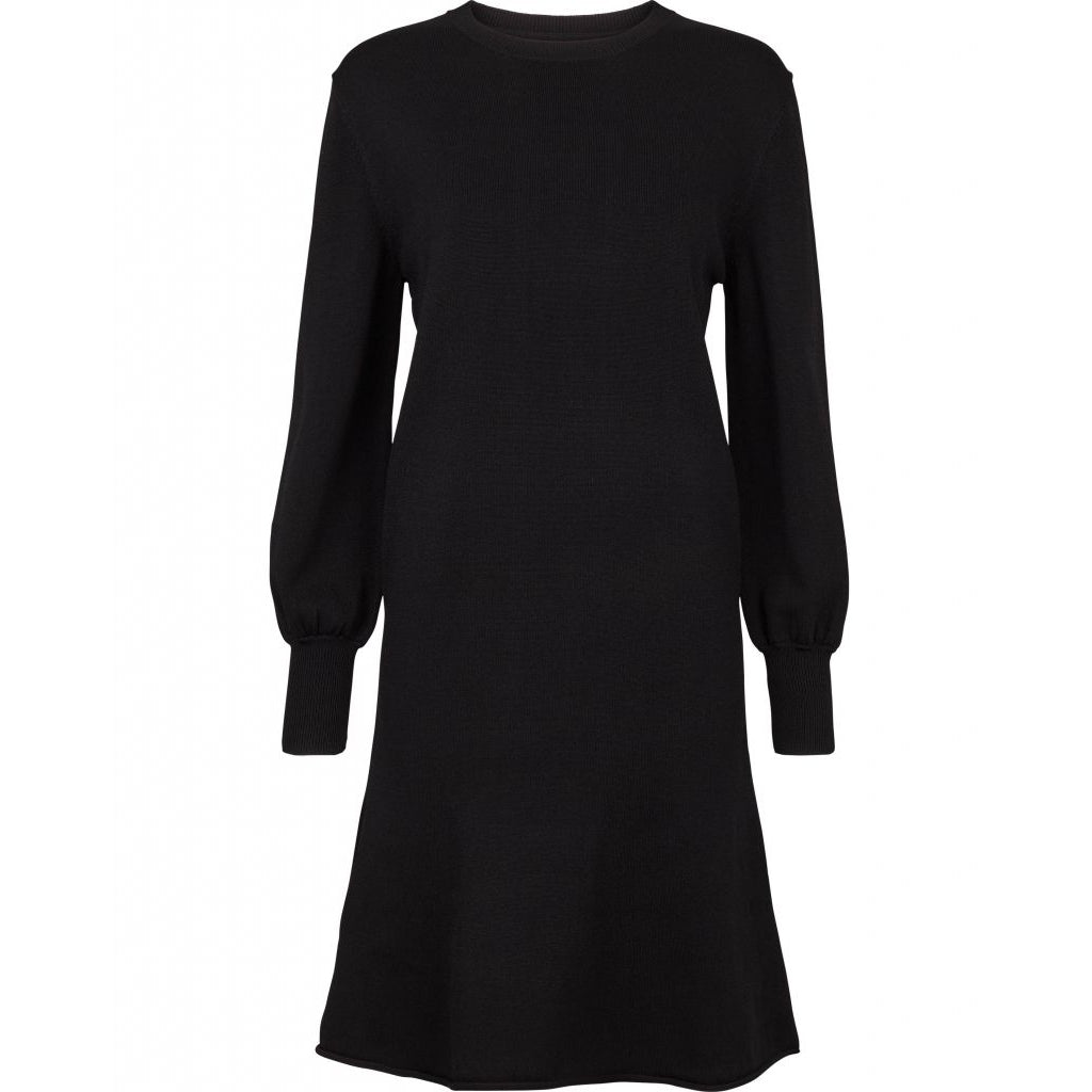Shella Knit Dress - Black