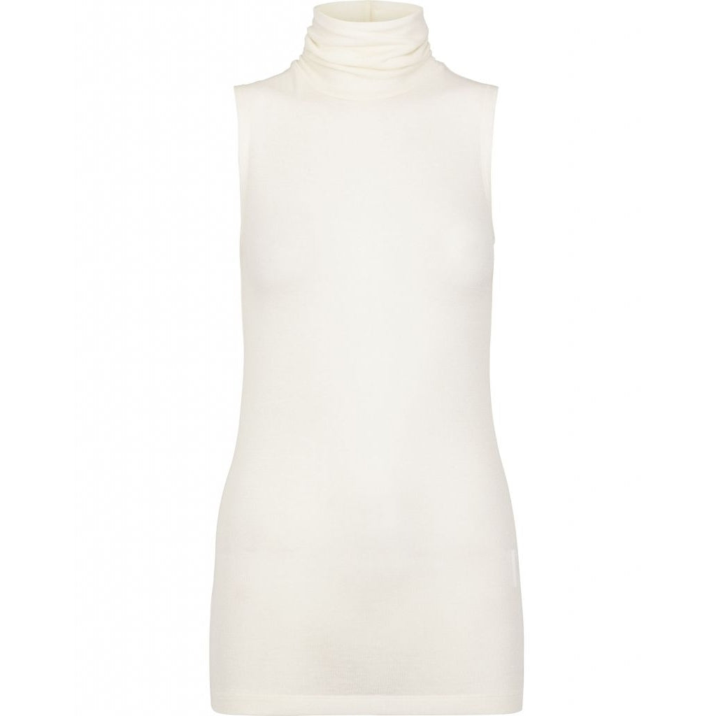 Angela Sleeveless Top - Snow white