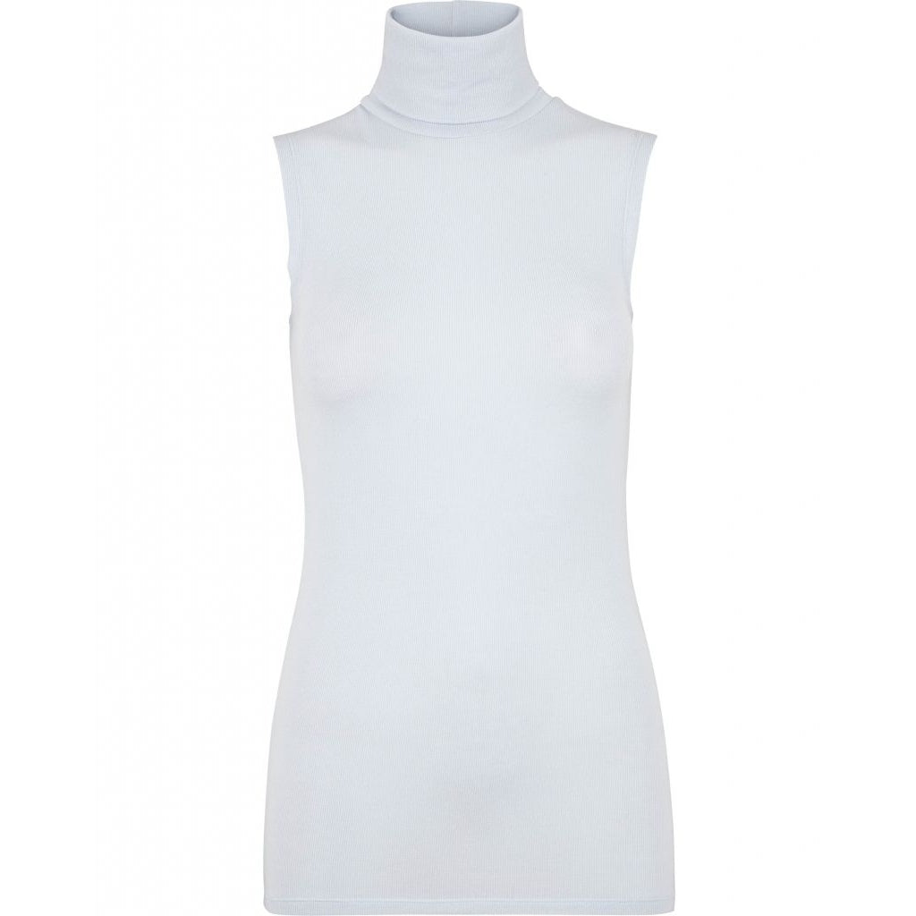 Bruuns Bazaar Women Angela Sleeveless Top Tops Light blue