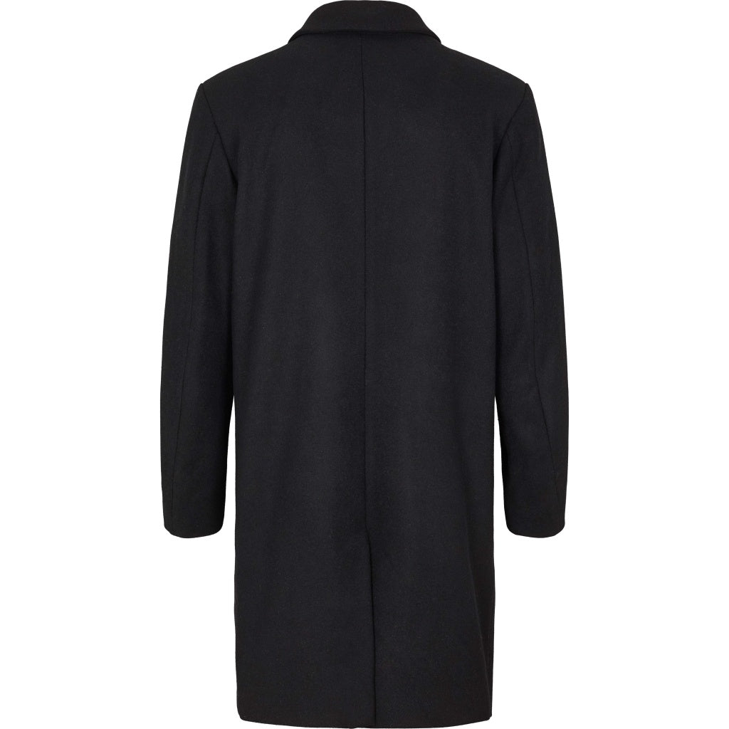Bruuns Bazaar Men Aslan Mac Coat Jacket Black