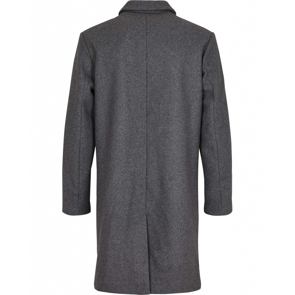 Bruuns Bazaar Men Aslan Mac Coat Jacket Grey mel