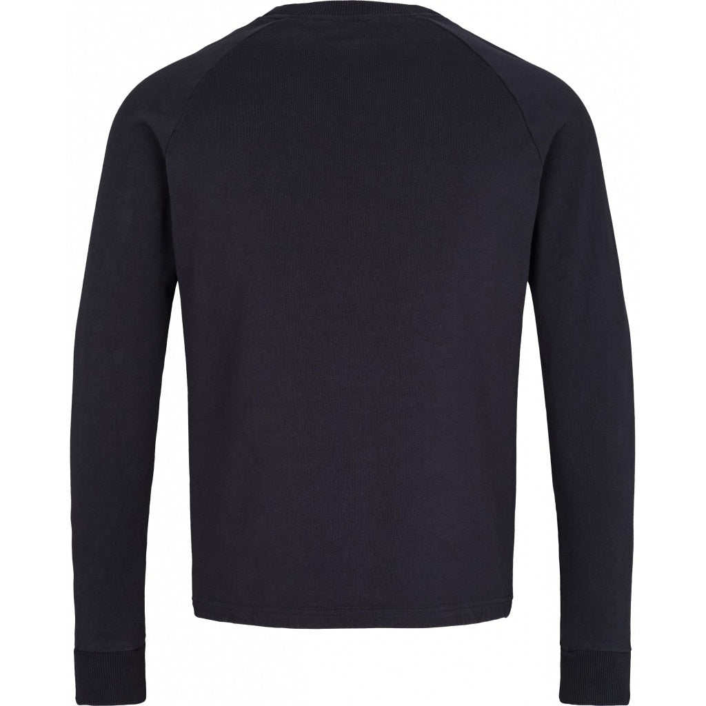 Bruuns Bazaar Men Birk O Neck Sweat Sweatshirt Dark Navy