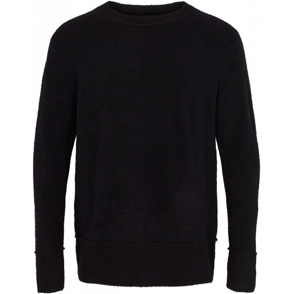 Bruuns Bazaar Men Chris Crew Neck Knit Black