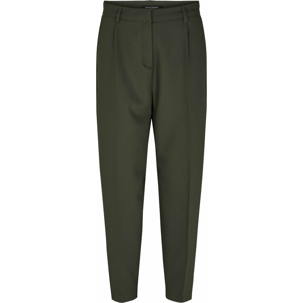 Bruuns Bazaar Women Cindy Dagny Pant Pants Deep Forest
