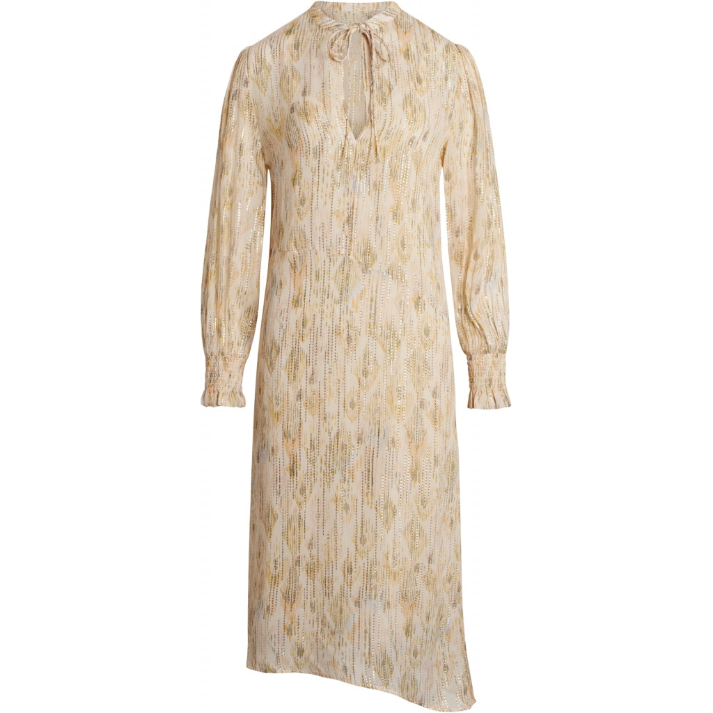 Bruuns Bazaar Women Dahlia Janet dress Dress White Cream AOP