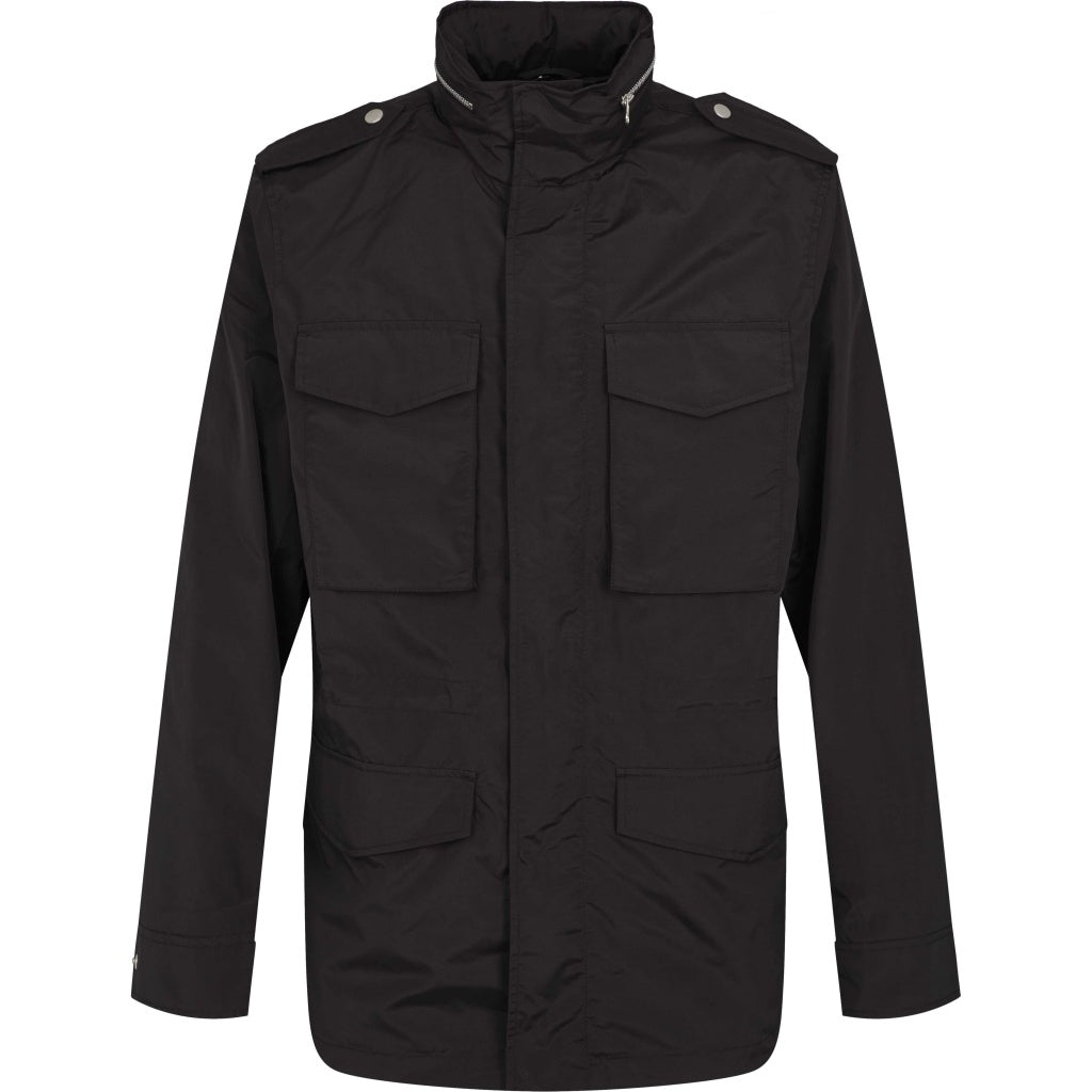 Bruuns Bazaar Men Fin Field jacket Jacket Black