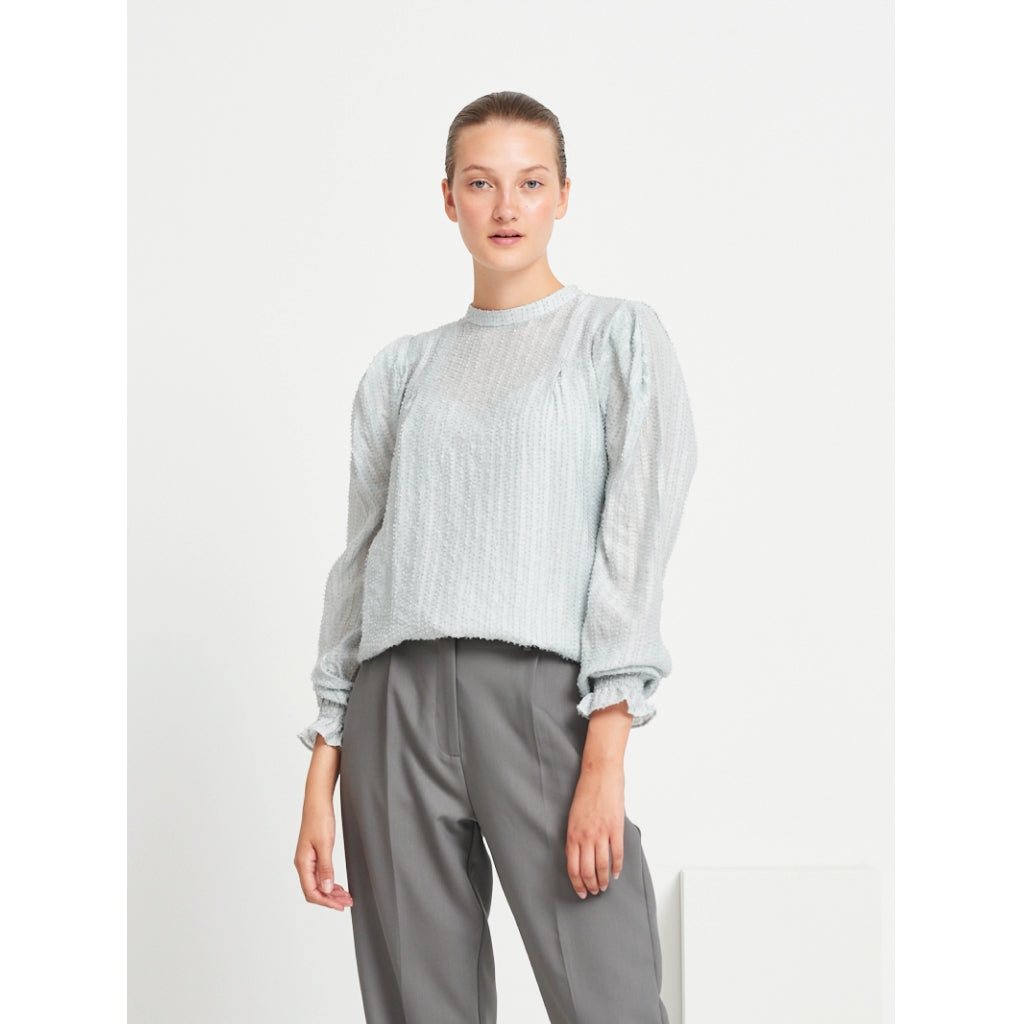 Bruuns Bazaar Women Hollow Honesty shirt Shirts Dawn Grey