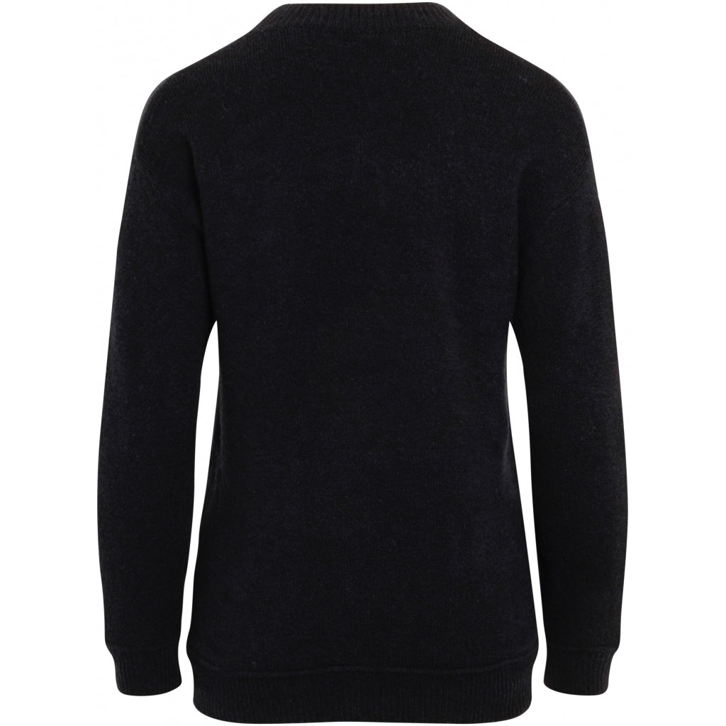 Bruuns Bazaar Women Holly Johanne Pullover Knit Black