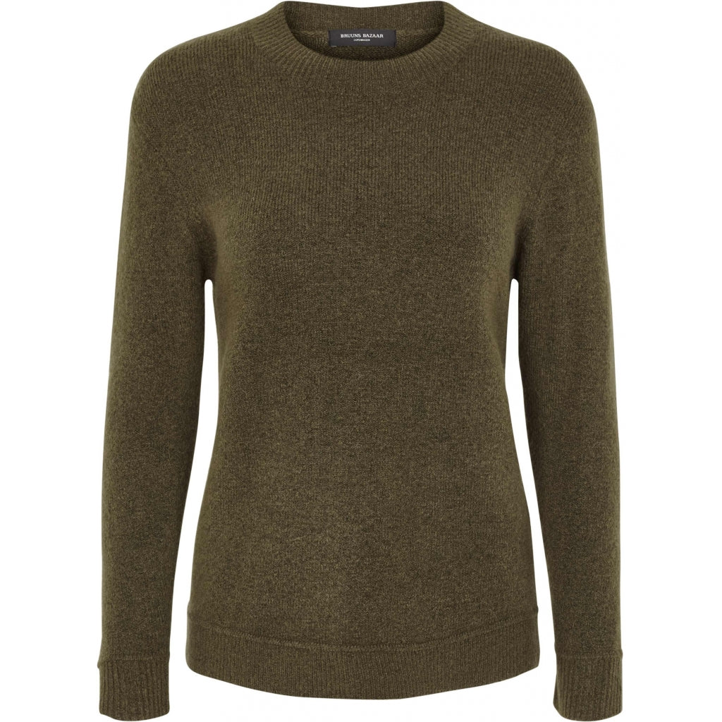 Bruuns Bazaar Women Holly Johanne Pullover Knit Crocodille