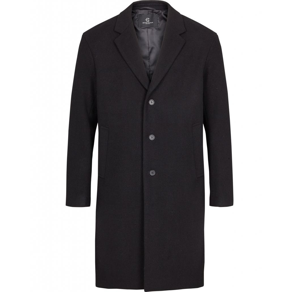 Bruuns Bazaar Men Janus Coat Outerwear Navy