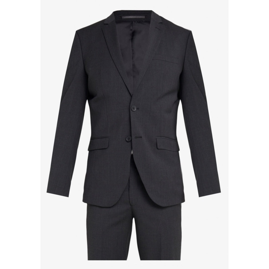 Bruuns Bazaar Men Karl Suit Blazer Grey Melange