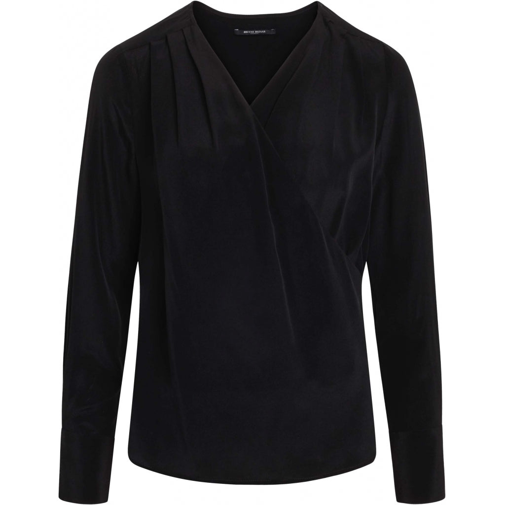 Bruuns Bazaar Women Lillie Event blouse Shirts Black