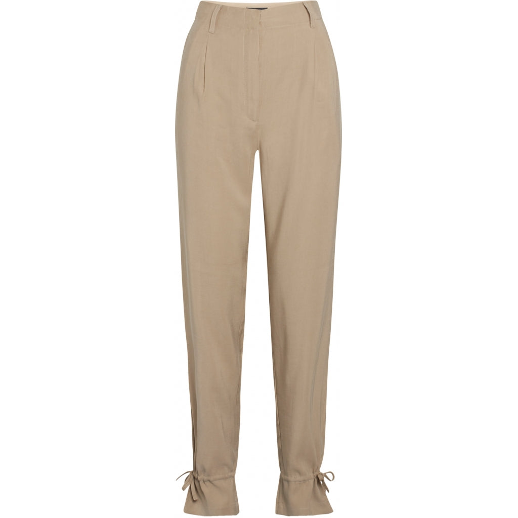 Bruuns Bazaar Women Lucille Mavis pant Pants Roasted Grey Khaki