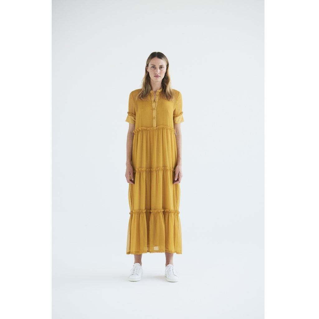 Bruuns Bazaar Women Marie Silje dress Dress Orange glow