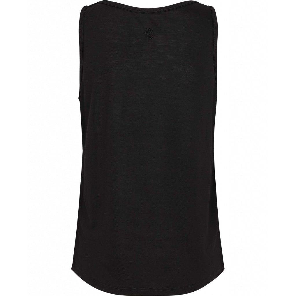 Bruuns Bazaar Women Molly Papaya Top Tops Black