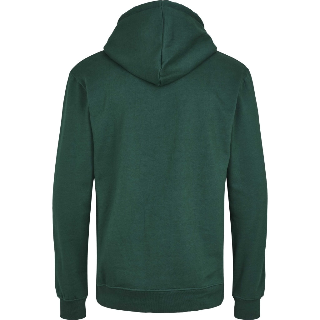Bruuns Bazaar Men Paul Gabriele hoodie sweat Sweatshirt Dk Green