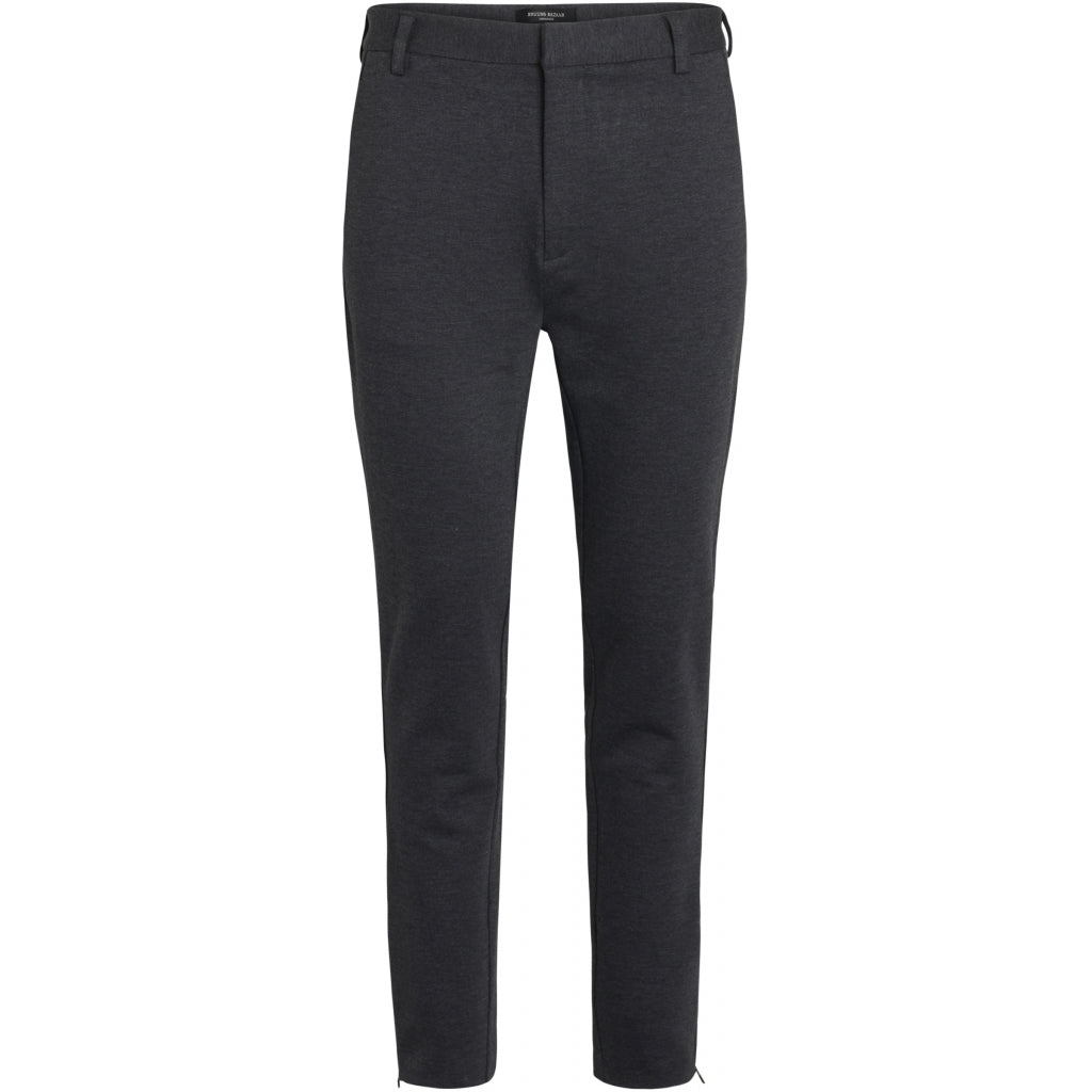 Bruuns Bazaar Men Politan zip pants Pants Antracite