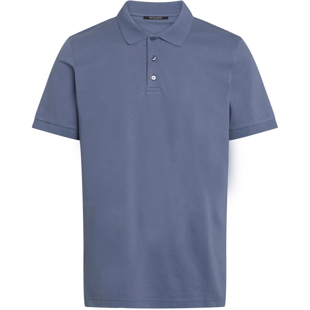 Bruuns Bazaar Men Raul Gonzales polo shirt T-shirts Men Flint