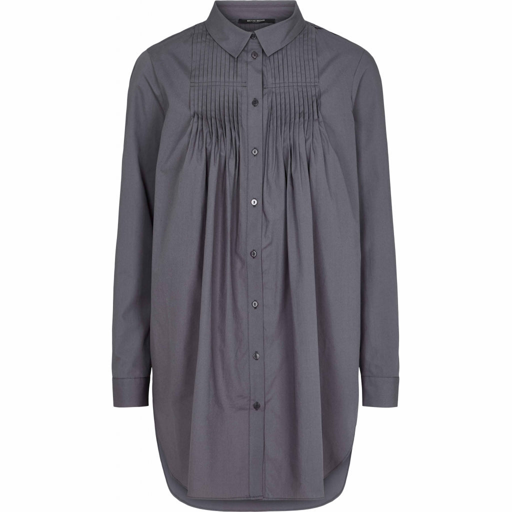 Bruuns Bazaar Women Rosie Madison tunic shirt Shirts Graystone