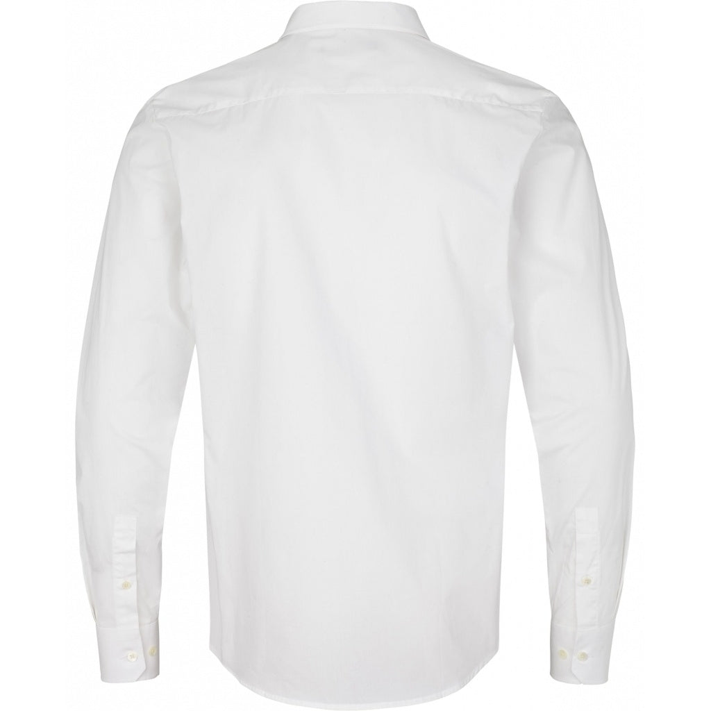 Bruuns Bazaar Men Victor Essential Shirts White