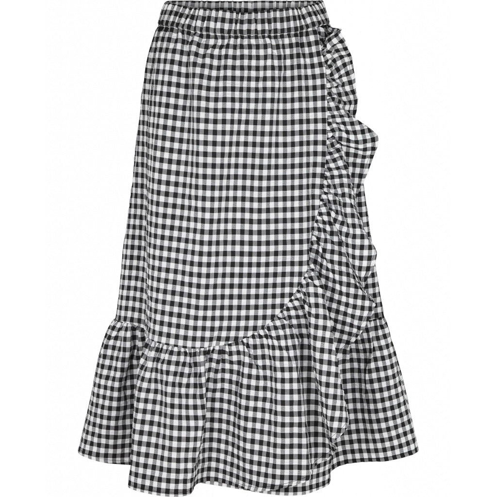 Bruuns Bazaar Women Seer Jessie skirt Skirt Black/white check