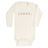 Loved organic long sleeve bodysuit by tenth & pine