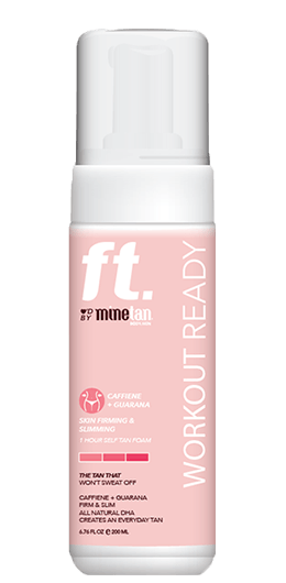 MineTan Fitness Workout Ready Mousse