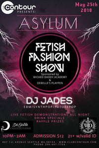 In Seattle on May 25th? Come join the first Wicked Daddy Fetish Fashion Show !