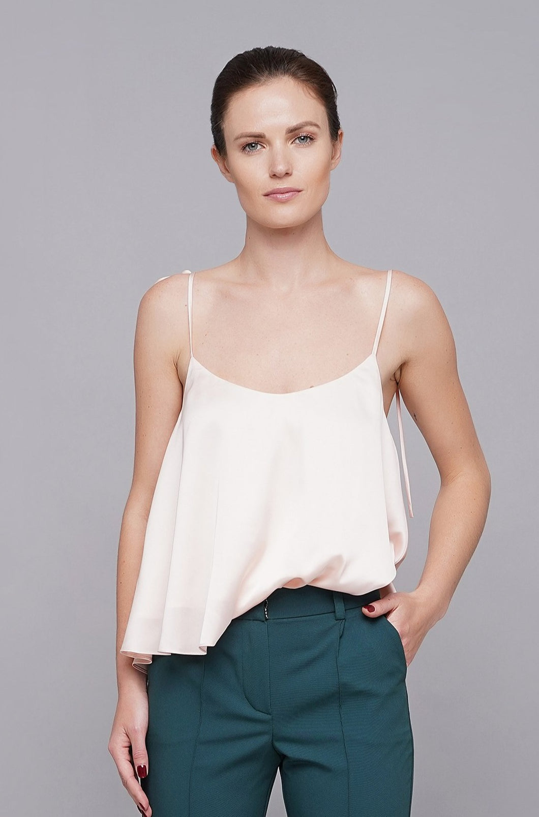 White camisole slip top for women