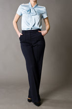 High-Rise Wide-leg Trousers