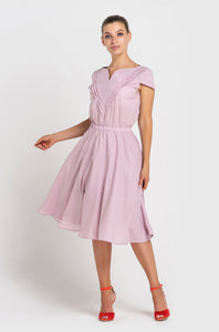 Summer Pink Cotton Dress