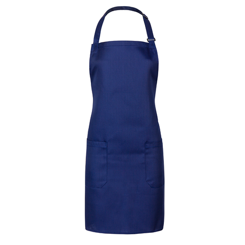 Minimalistic fashion design for men and women aprons (Blue)