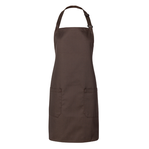 Minimalistic fashion design for men and women aprons (Brown)
