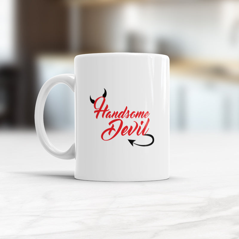Handsome Devil Funny Coffee mug