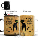 crazy cat mom mugs