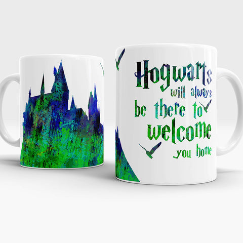 Hogwarts will always be there to wolcome you home Awesome mug