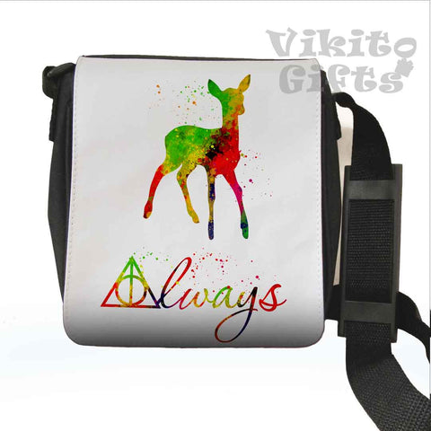 Always - Watercolor Art Messenger Shoulder Small bag