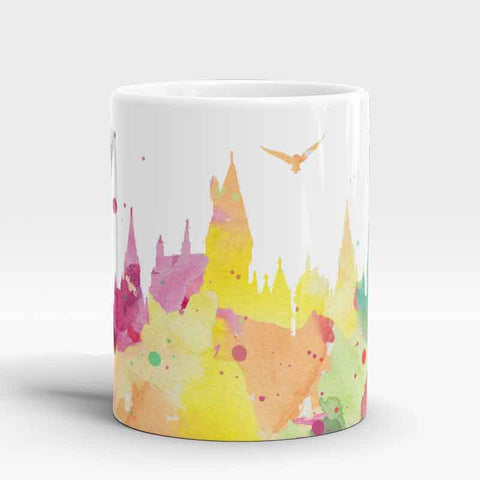 Watercolor Castle Coffee Mug